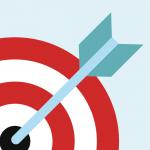 target with dart in the bullseye