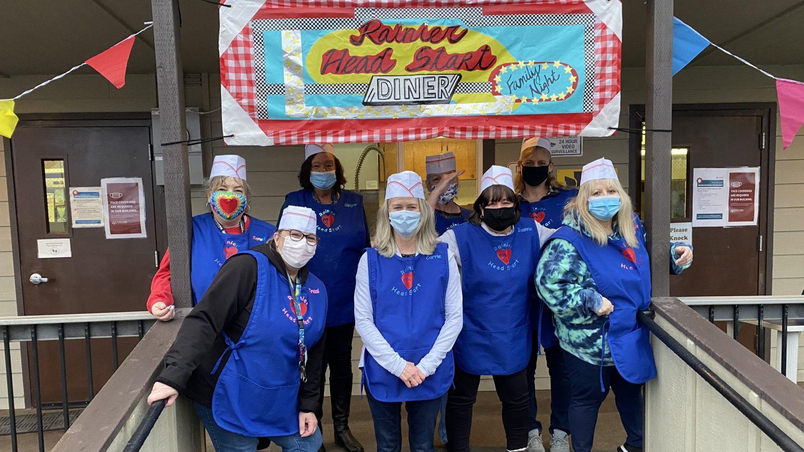 Rainier Head Start Center Staff